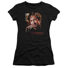 Californication Smoker Short Sleeve Junior Sheer T-Shirt