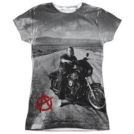 Sons Of Anarchy Open Road Short Sleeve Junior Poly Crew T-Shirt