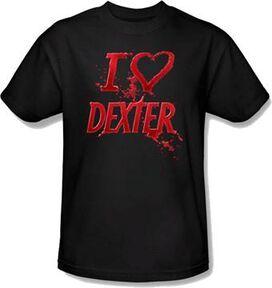 Dexter Heart T-Shirt
