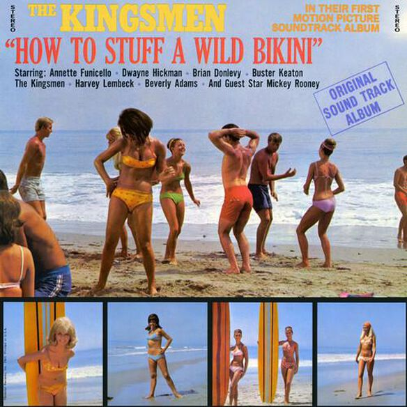 Various Artists - How to Stuff a Wild Bikini (Original Soundtrack)