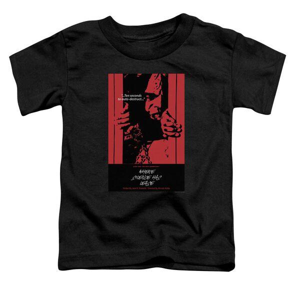 Star Trek Tng Season 2 Episode 2 Short Sleeve Toddler Tee Black Lg T-Shirt