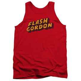 Flash Gordon Logo Adult Tank
