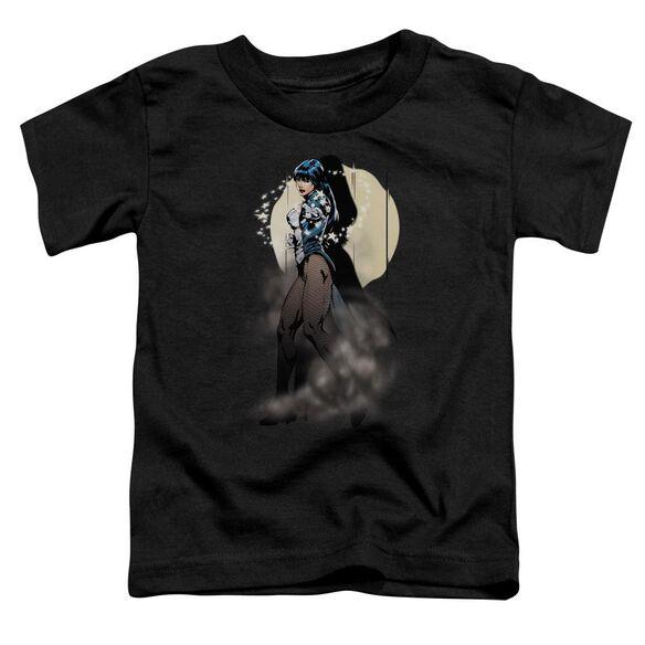 Jla Zatanna Illusion Short Sleeve Toddler Tee Black Lg T-Shirt