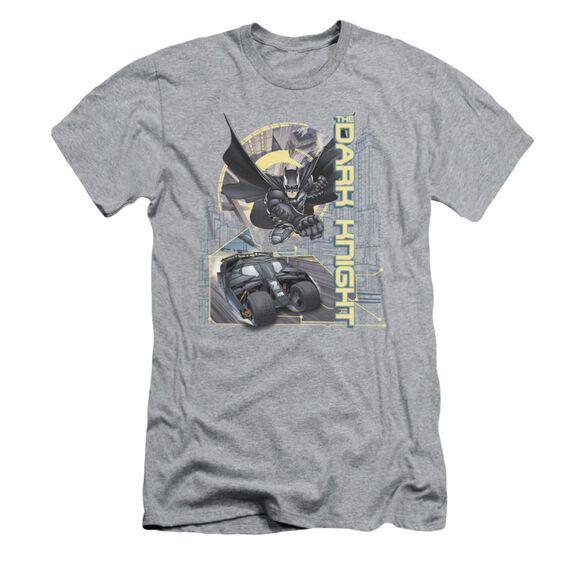 Dark Knight City Is Safe Tonight Short Sleeve Adult Athletic T-Shirt
