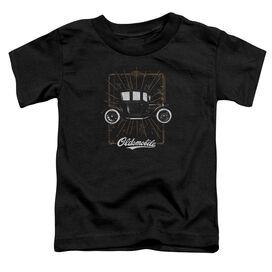 Oldsmobile 1912 Defender Short Sleeve Toddler Tee Black T-Shirt