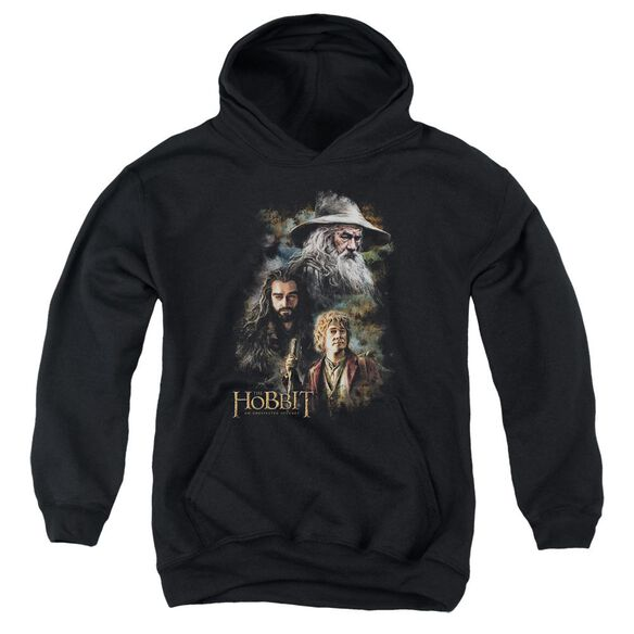 The Hobbit Painting Youth Pull Over Hoodie
