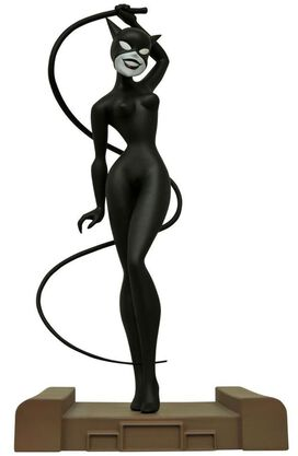 DC Gallery Batman The Animated Series Catwoman PVC Figure Statue [New Adventures]