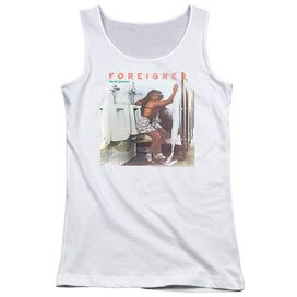 Foreigner Head Games Juniors Tank Top