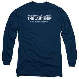 Last Ship Find The Cure Long Sleeve Adult T-Shirt
