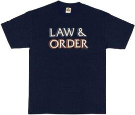 Law and Order Logo T-Shirt