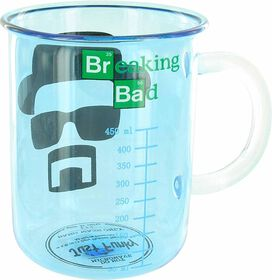 Breaking Bad Heisenberg Beaker Glass Mug