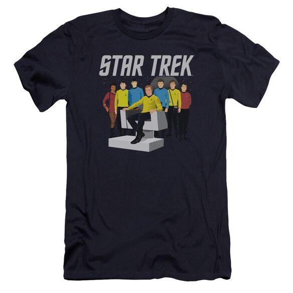 Star Trek Vector Crew Premuim Canvas Adult Slim Fit