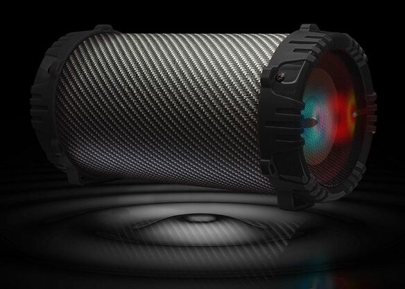 2Boom Twister Portable Bluetooth Speaker (Black)