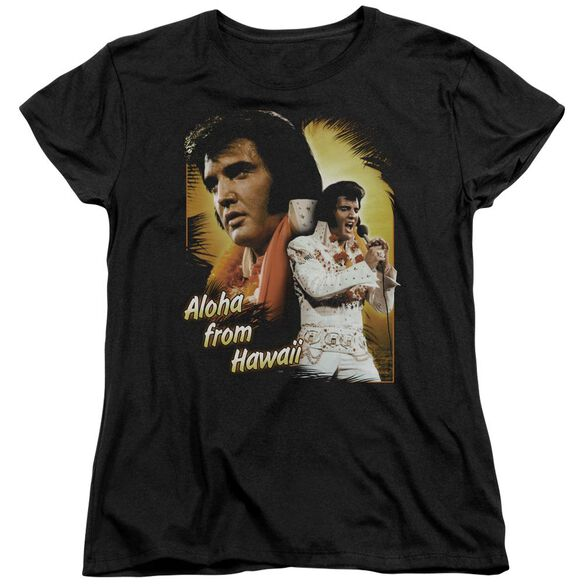 Elvis Presley Aloha Short Sleeve Womens Tee T-Shirt