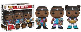 Funko Pop!: WWE - The New Day (w/ Booty O's) 3PK