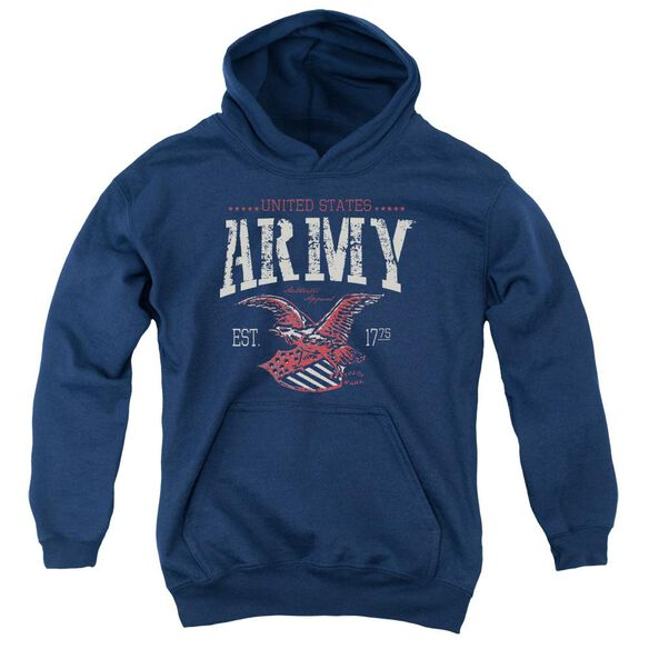 Army Arch Youth Pull Over Hoodie