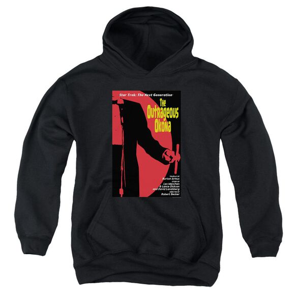 Star Trek Tng Season 2 Episode 4 Youth Pull Over Hoodie