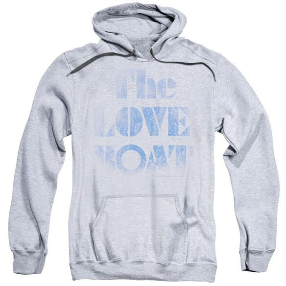 Love Boat Distressed Adult Pull Over Hoodie Athletic