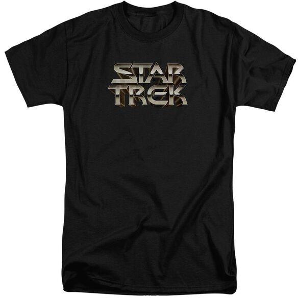 Star Trek Feel The Steel Short Sleeve Adult Tall T-Shirt