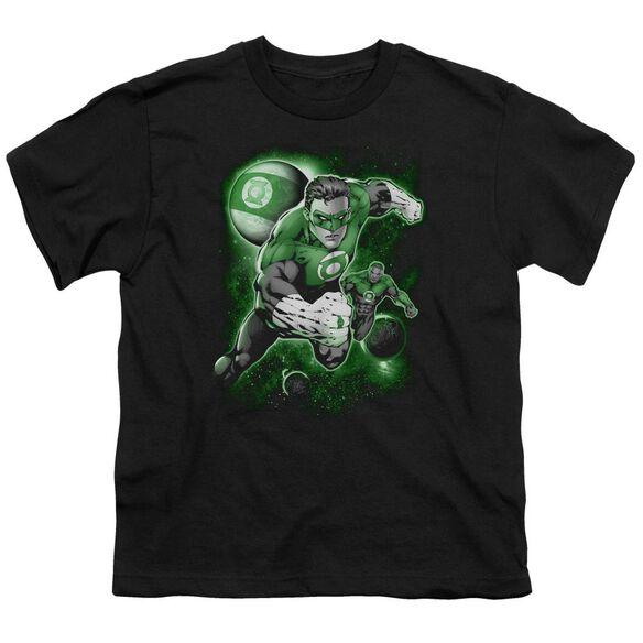 Green Lantern Lantern Planet Short Sleeve Youth T-Shirt