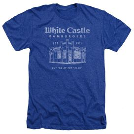 White Castle By The Sack Adult Heather Royal