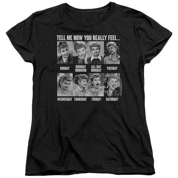 I Love Lucy 8 Days A Week Short Sleeve Women's Tee T-Shirt