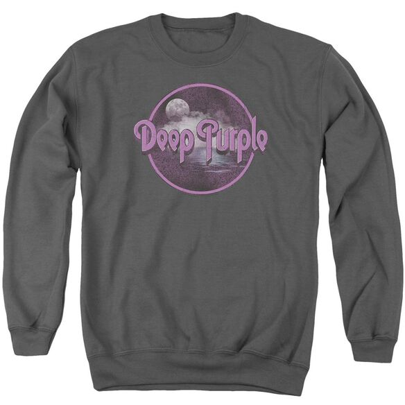 Deep Purple Smoke On The Water Adult Crewneck Sweatshirt
