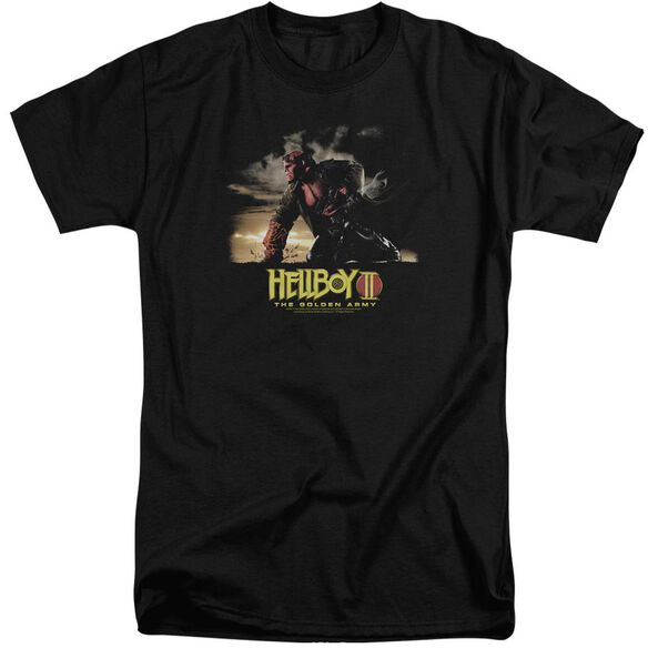 Hellboy Ii Poster Art Short Sleeve Adult Tall T-Shirt