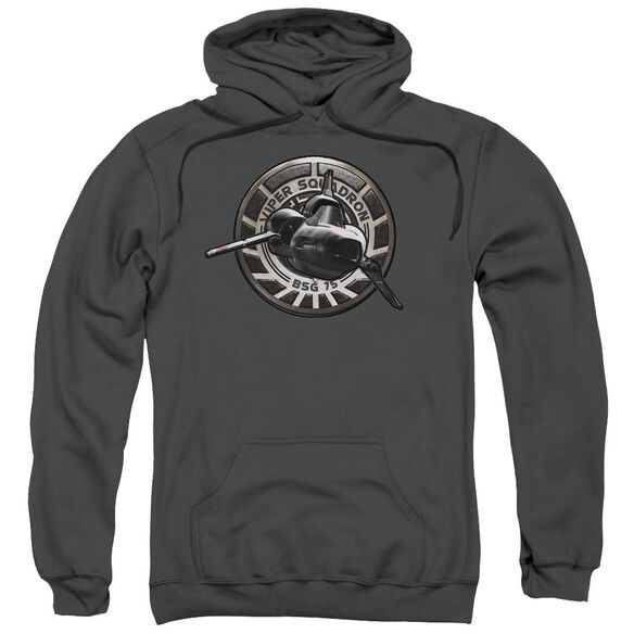 Bsg Viper Squadron Adult Pull Over Hoodie