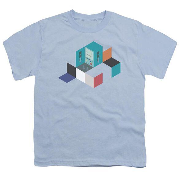 Adventure Time Bmo Blocks Short Sleeve Youth Light T-Shirt