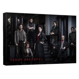 Penny Dreadful Stair Cast Quickpro Artwrap Back Board