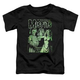 Misfits The Return Short Sleeve Toddler Tee Black T-Shirt