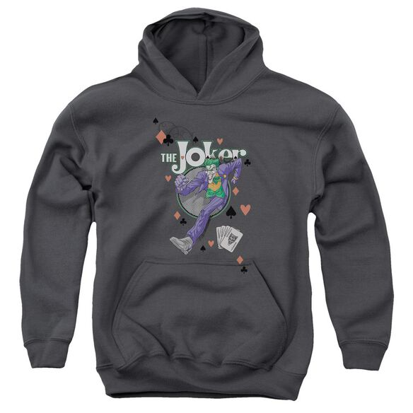 Batman Always A Joker Youth Pull Over Hoodie