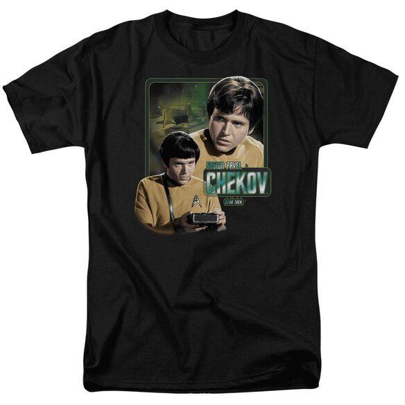 Star Trek Ensign Chekov Short Sleeve Adult T-Shirt