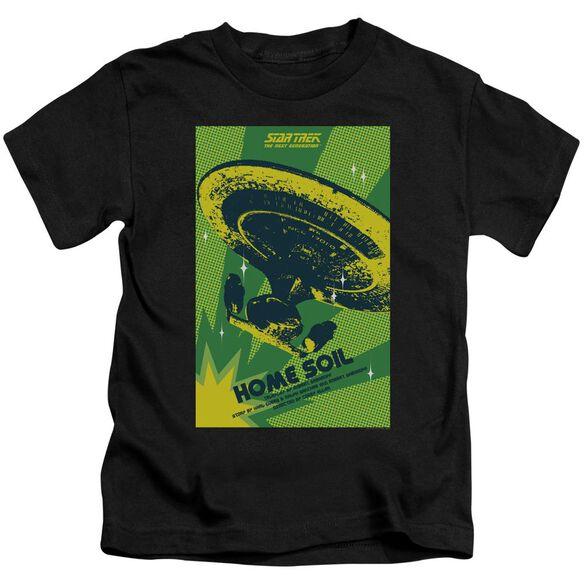 Star Trek Tng Season 1 Episode 18 Short Sleeve Juvenile Black Md T-Shirt