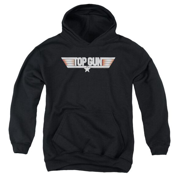 Top Gun Logo Youth Pull Over Hoodie