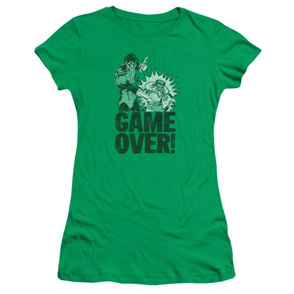 Lantern Game Over Short Sleeve Junior Sheer Kelly T-Shirt