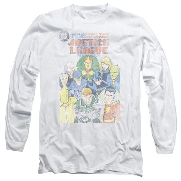 Jla Justice League #1 Cover Long Sleeve Adult T-Shirt