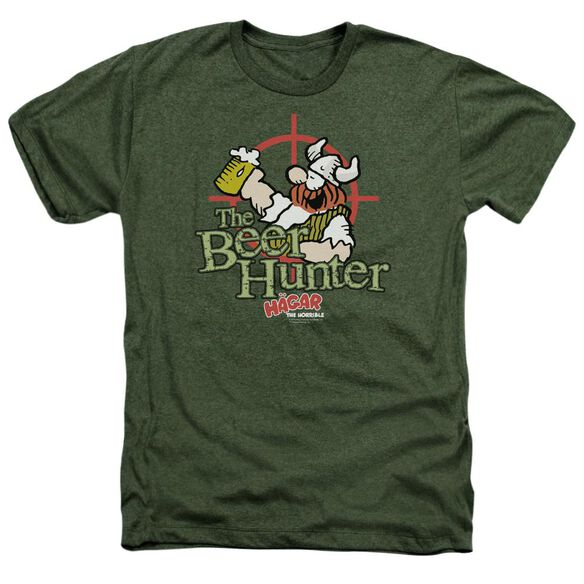 Hagar The Horrible Beer Hunter Adult Heather Military