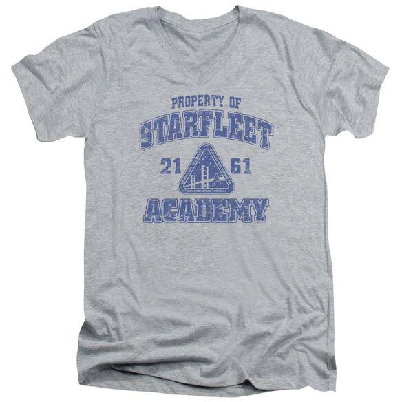 Star Trek Old School Short Sleeve Adult V Neck Athletic T-Shirt