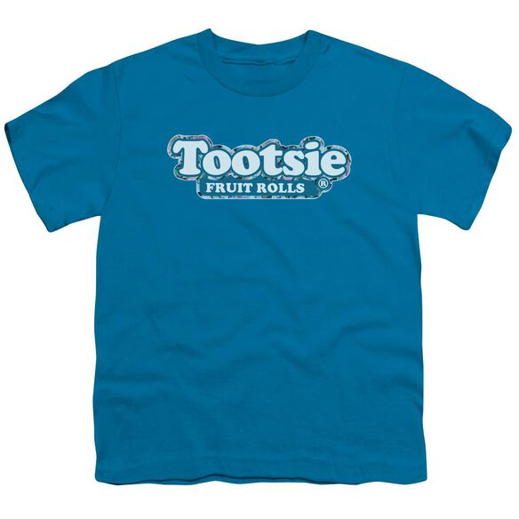 Tootsie Roll Tootsie Fruit Rolls Logo Short Sleeve Youth T-Shirt
