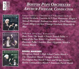 Arthur Fiedler - Arthur Fiedler Conducts the Boston Pops Orchestra (Box Set)