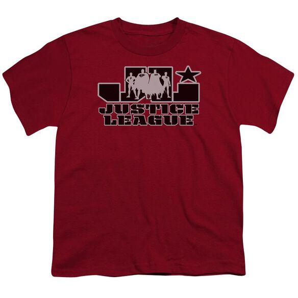Jla Jla Logo Short Sleeve Youth T-Shirt