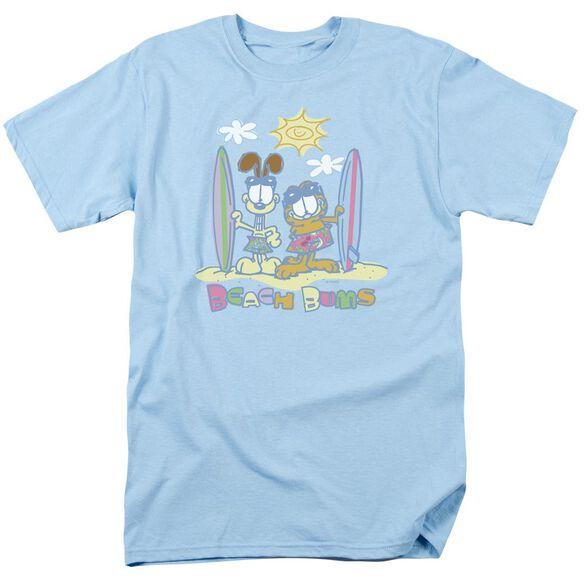 Garfield Beach Bums Short Sleeve Adult Light T-Shirt