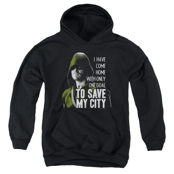 Arrow Save My City Youth Pull Over Hoodie