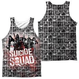 Suicide Squad Squad Splatter (Front Back Print) Adult Poly Tank Top