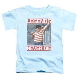 Sandlot Legends Short Sleeve Toddler Tee Light Blue T-Shirt
