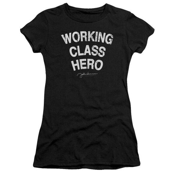 John Lennon Working Class Hero Hbo Short Sleeve Junior Sheer T-Shirt
