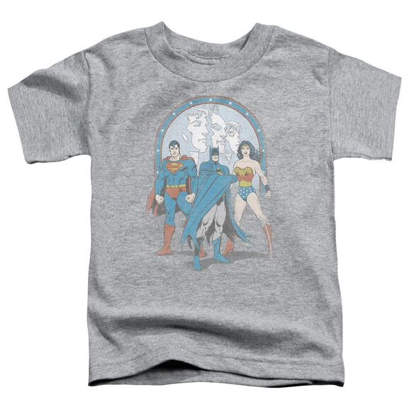 Dc Trinity Short Sleeve Toddler Tee Athletic Heather Md T-Shirt