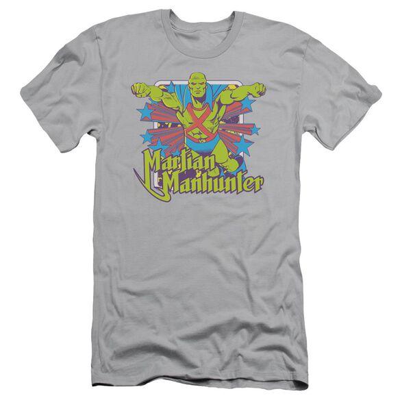 Dc Manhunter Stars Short Sleeve Adult T-Shirt